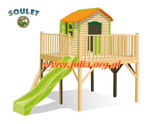 Tanie Hustawki Ogrodowe Dla Dzieci : Domek Drewniany Plac Zabaw Tanio Ostrowiec świętokrzyski Image 1